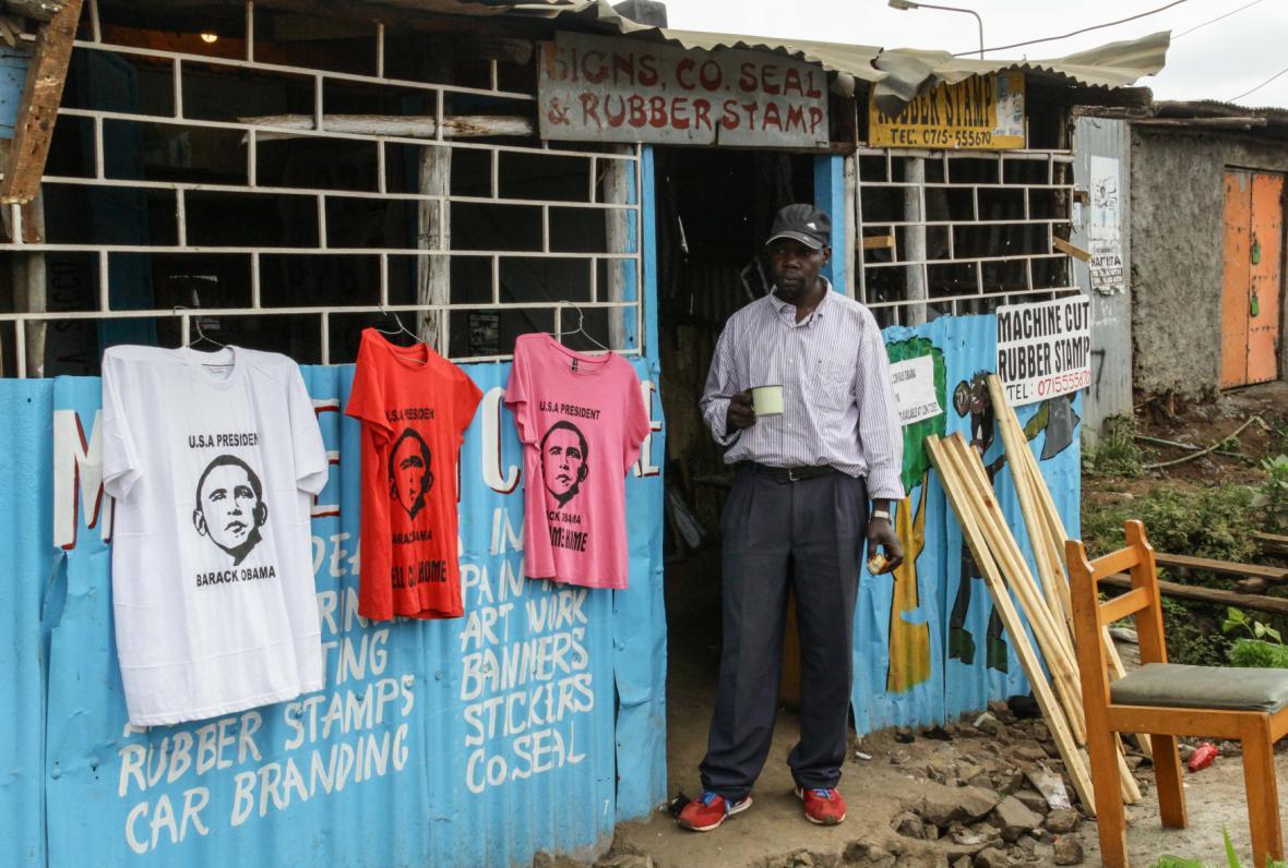 Návštěvy Obamy využili i kenští obchodníci