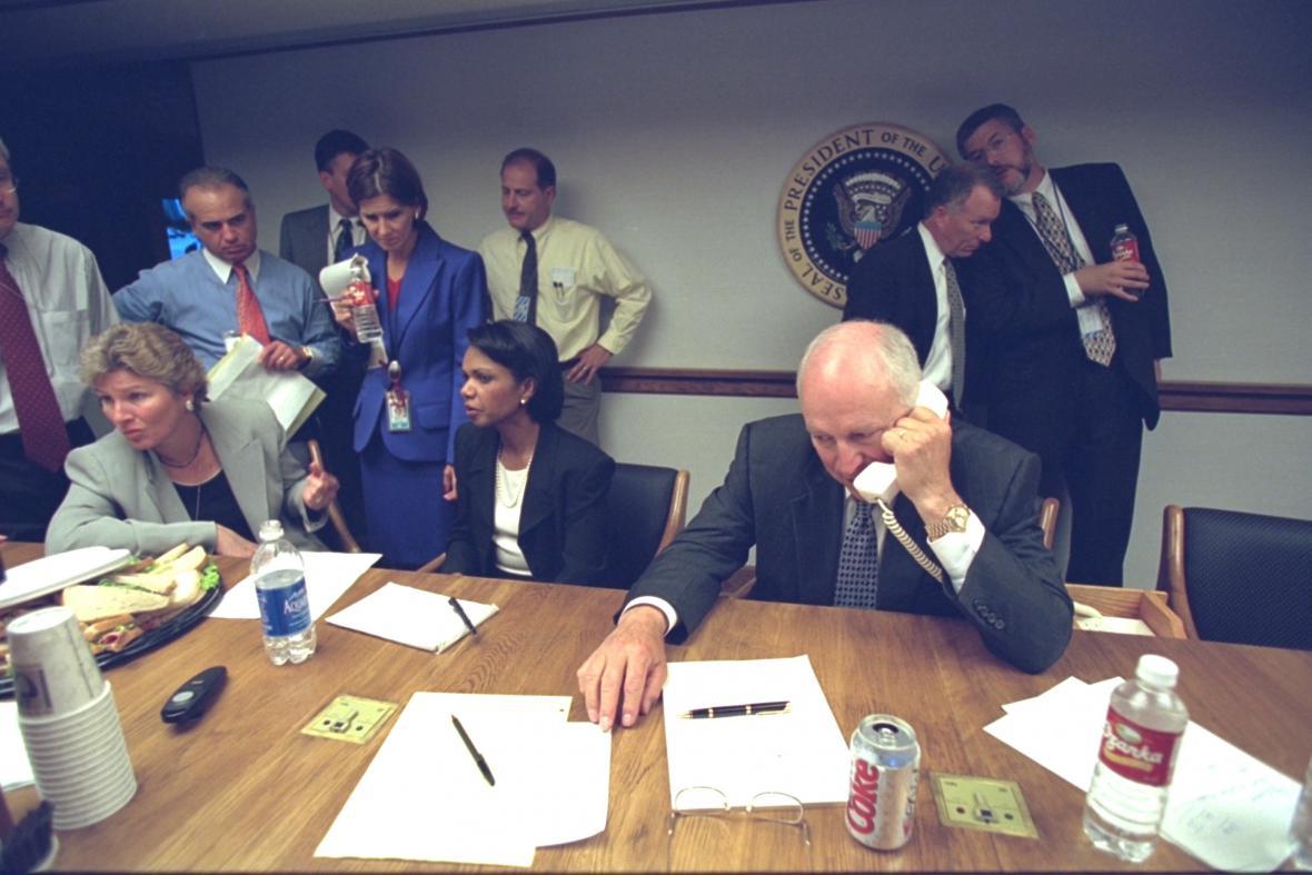 Bushova administrativa po atentátech z 11. září