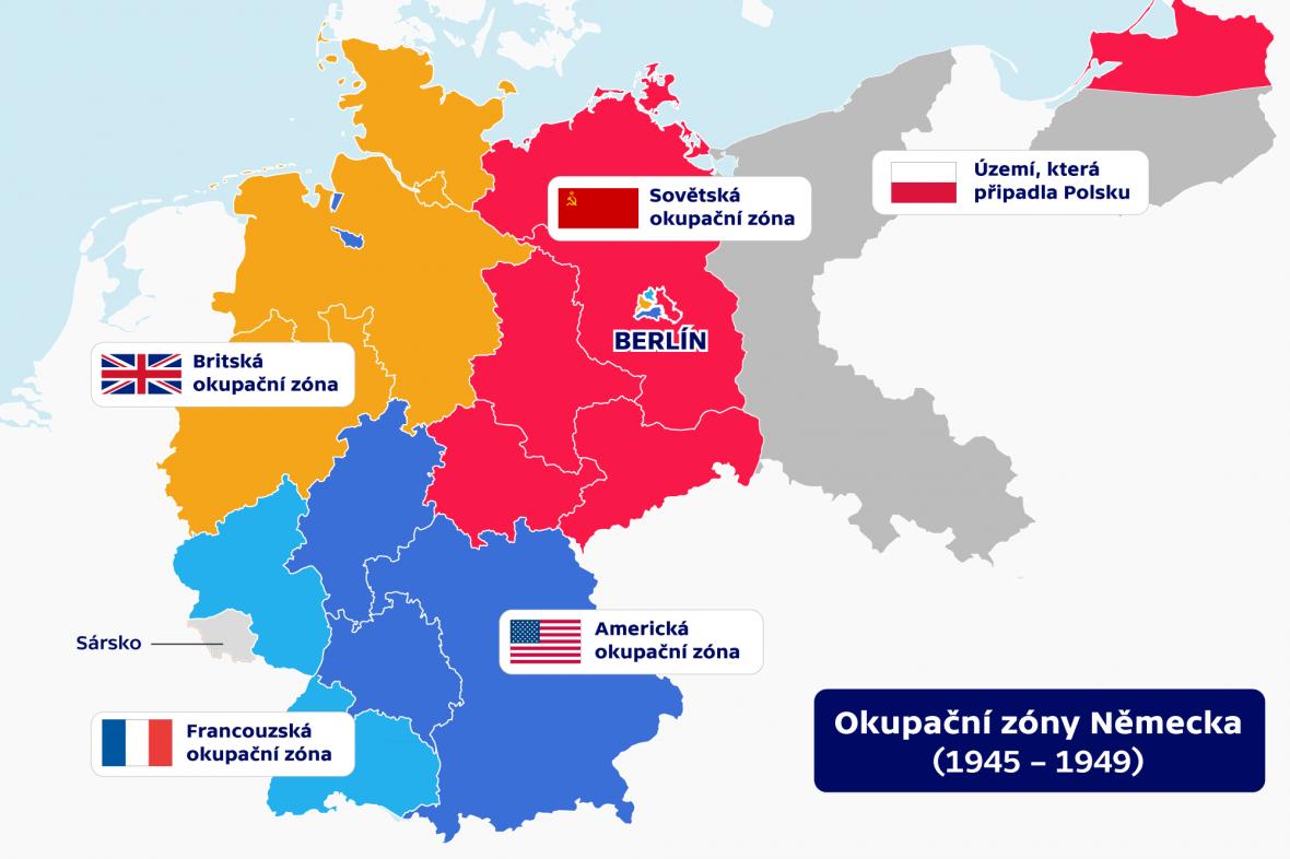 Okupační zóny Německa (1945 – 1949)