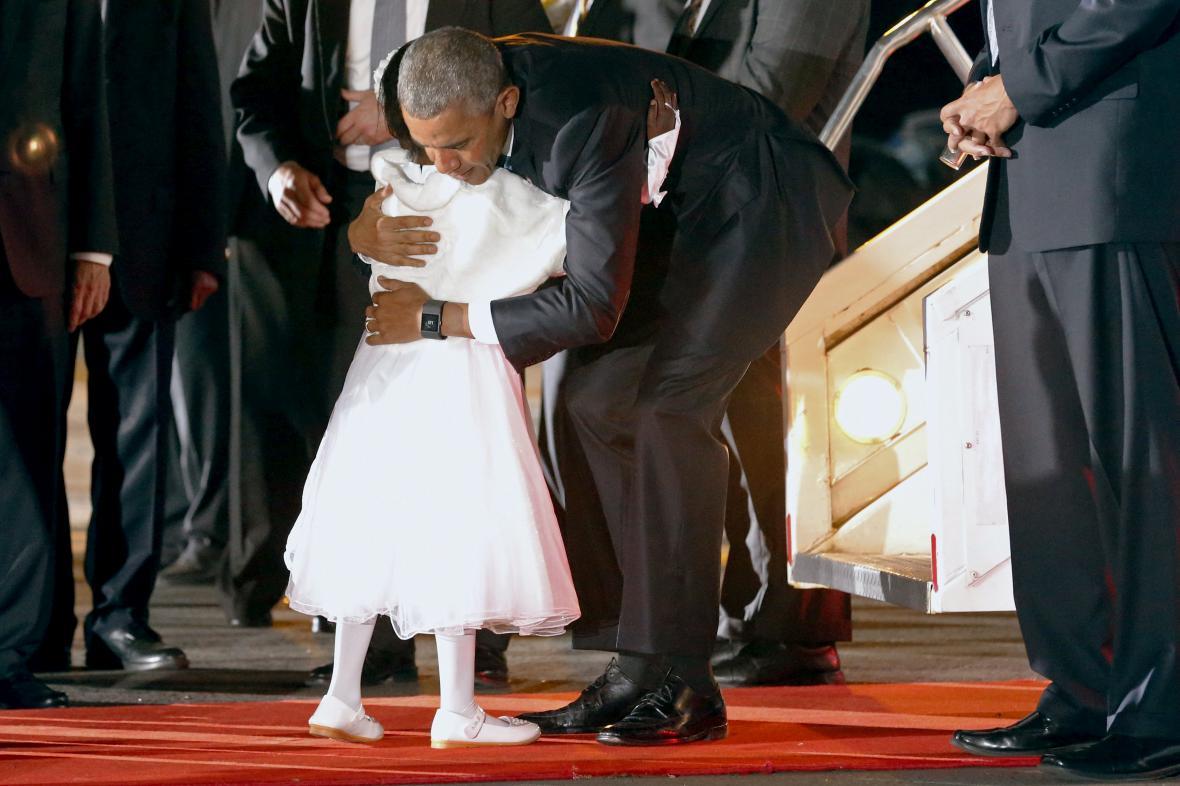 Barack Obama a Joan Wamaithaová