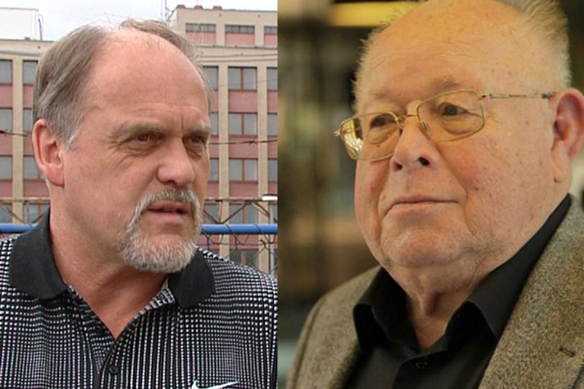 František Kajgr a Jindřich Vařeka starší