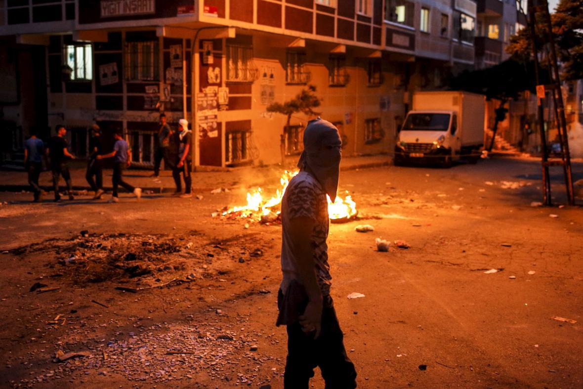 Protesty v Istanbulu
