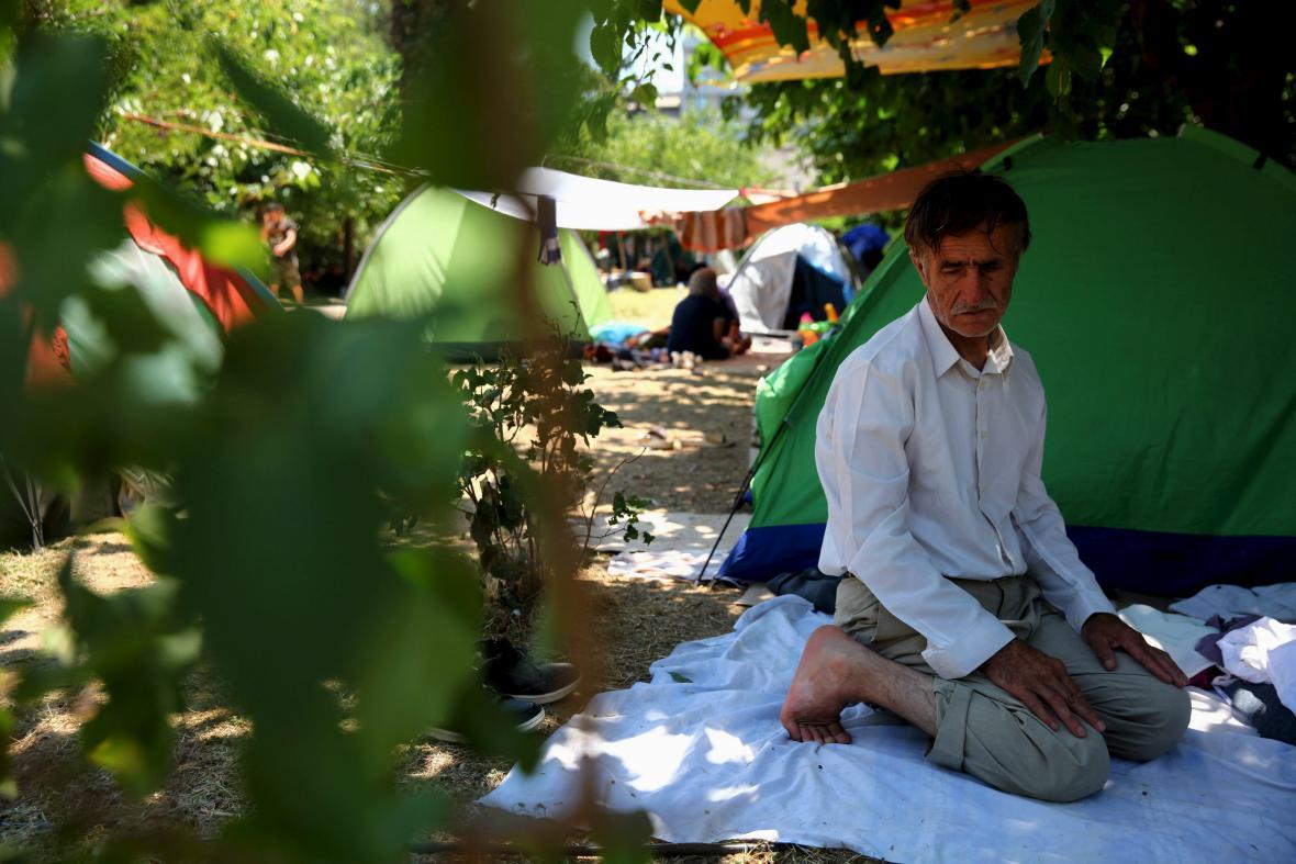 Uprchlíci v Aténách