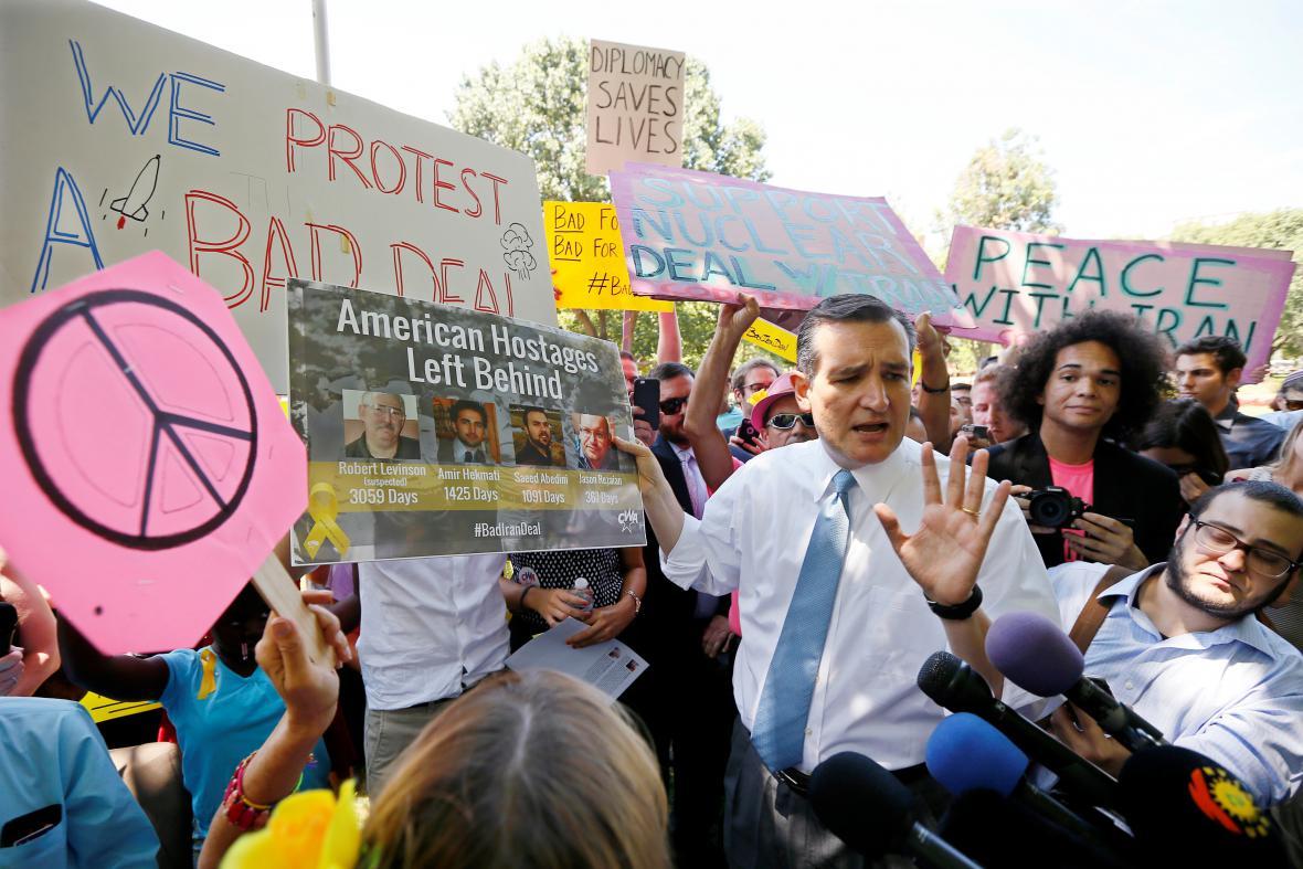 Senátor za Texas Ted Cruz