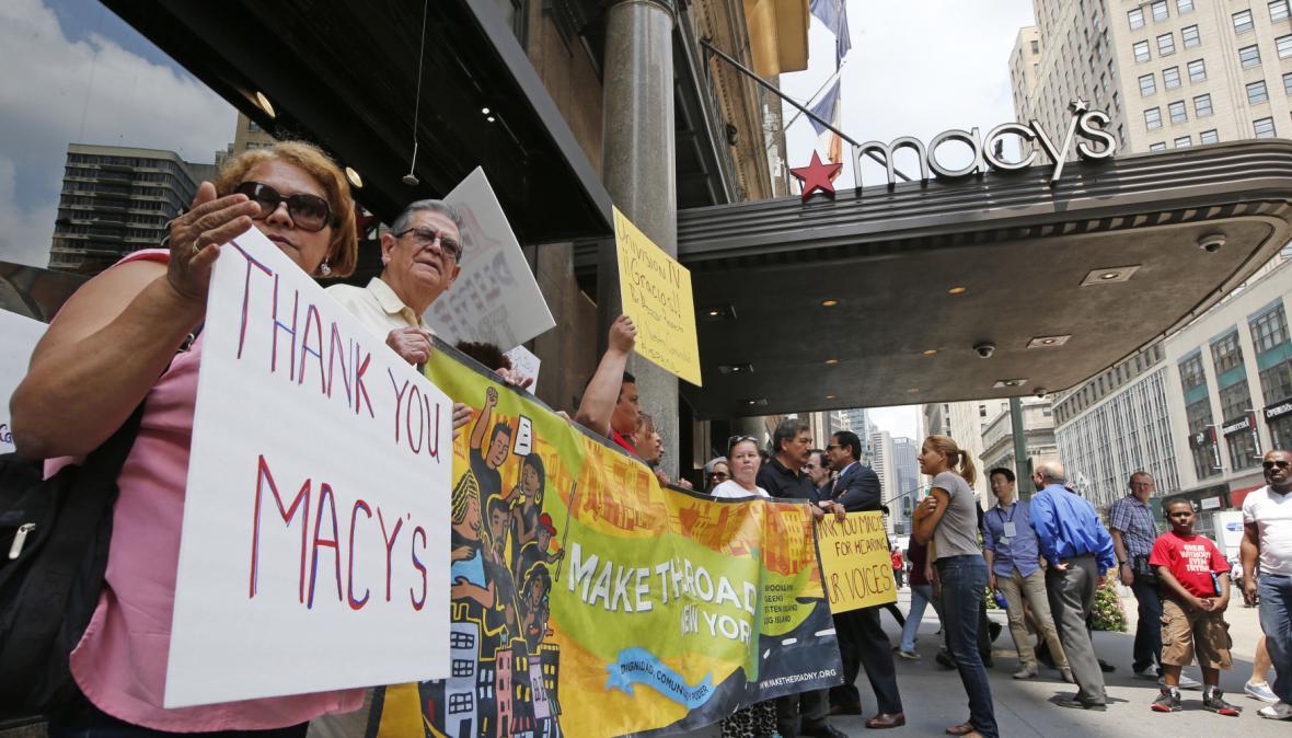 Trumpova slova o Mexičanech vyvolala nevoli mezi lidmi