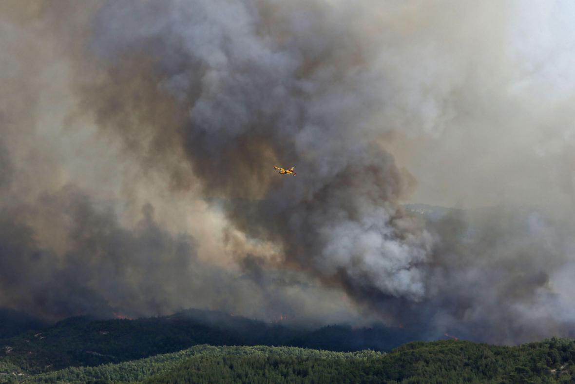 Požáry ve Španělsku