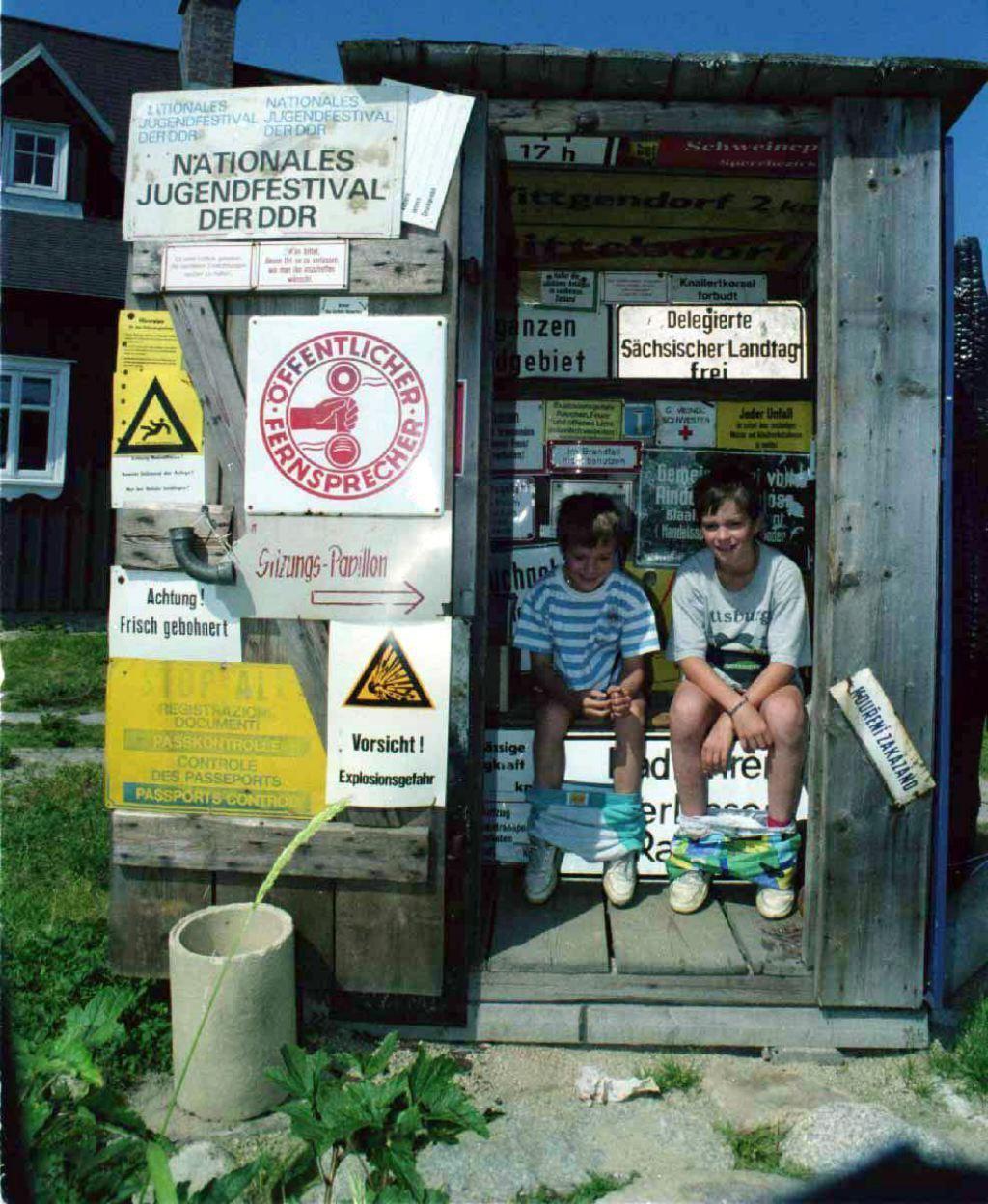 Záchod u Hnojového domu - snímek z roku 1998