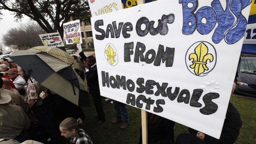 Odpůrci širších pravomocí gayů v rámci skautského hnutí