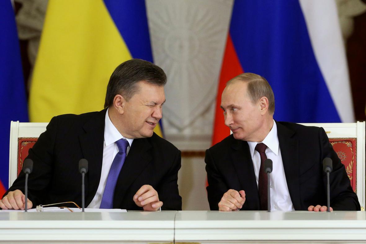 Bývalý ukrajinský prezident je pod ochranou Vladimira Putina