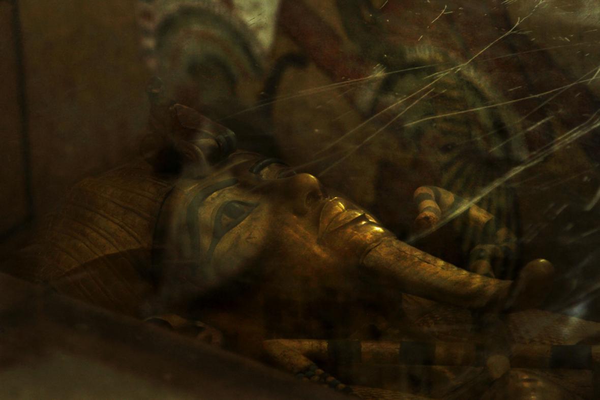 Tutanchamonova hrobka v Egyptě