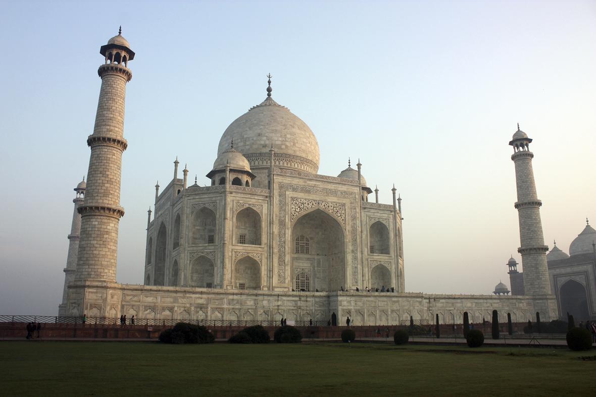 Indický chrám Tádž Mahal