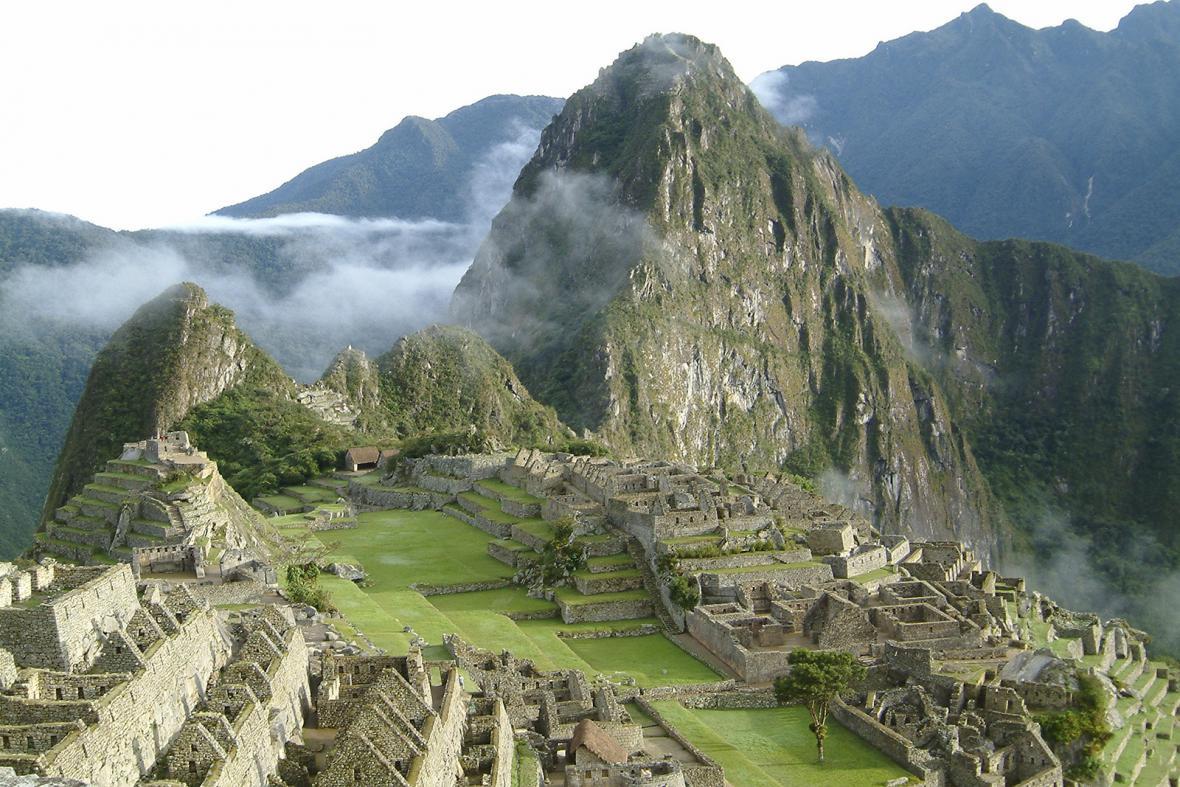Kultovní incké město Machu Picchu