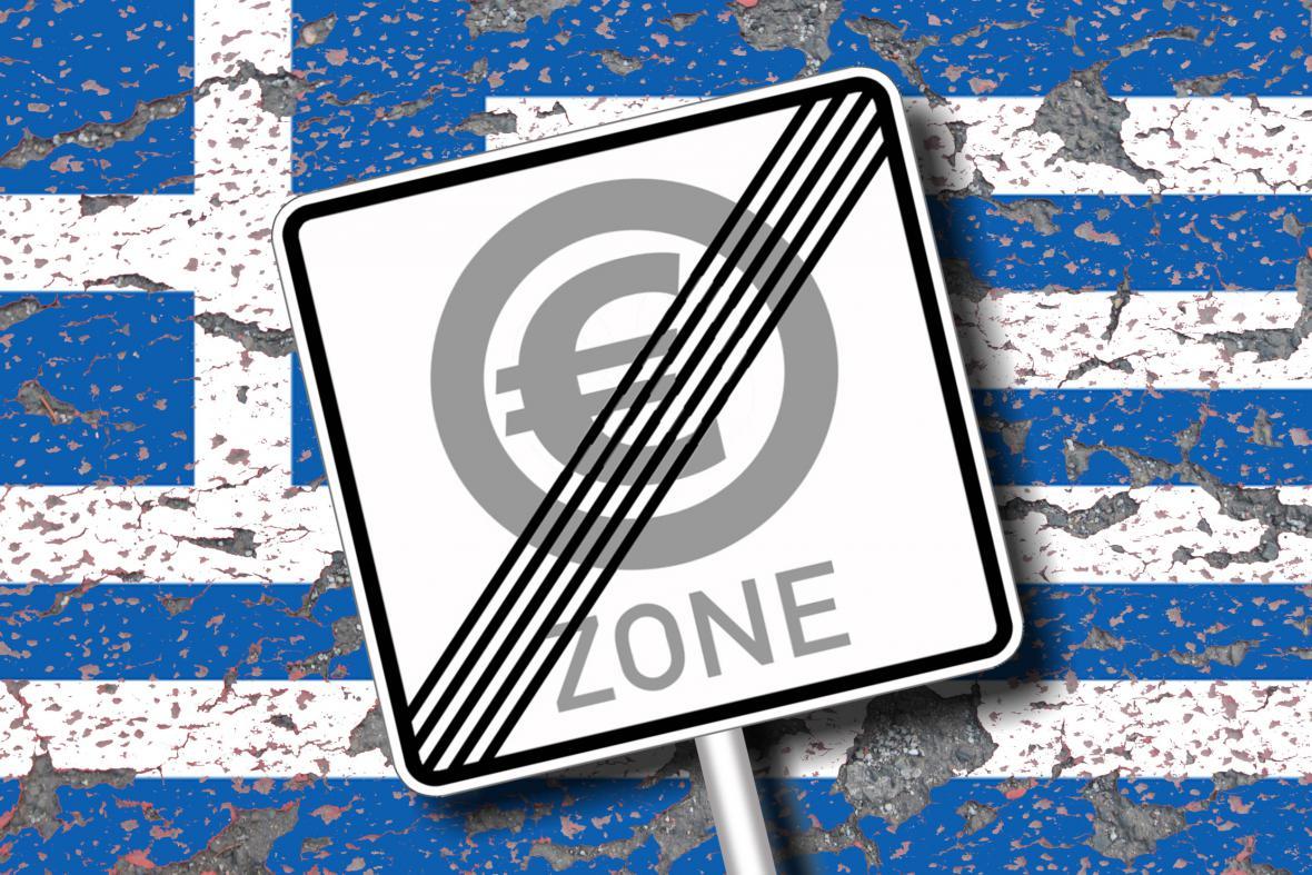 Řecko: tady končí eurozóna