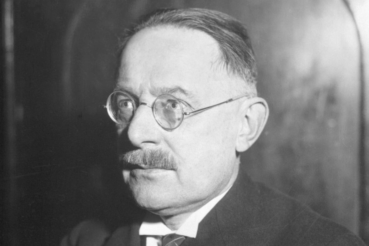 Karel Absolon na snímku z roku 1932