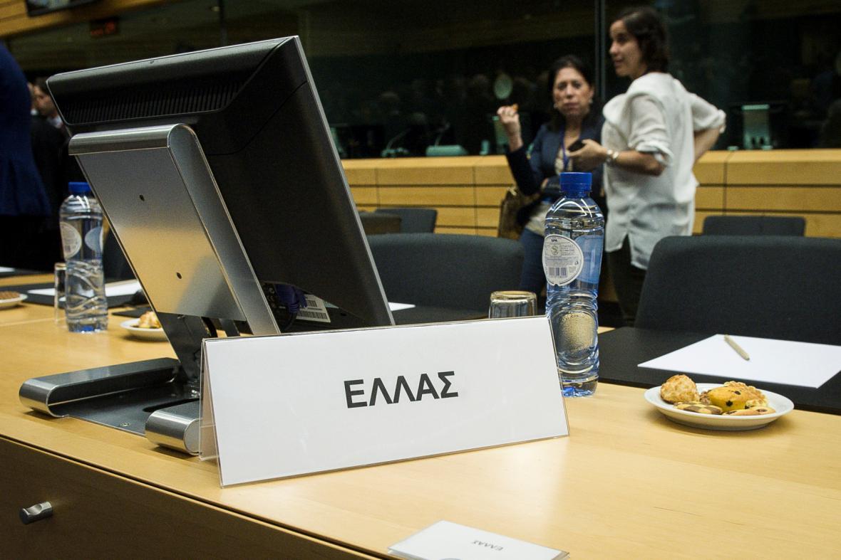 Řecko na jednání euroskupiny
