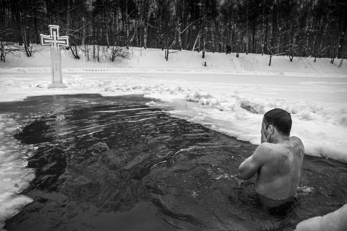 Dana Kyndrová / Svátek Křtu Páně, Moskva, 2013