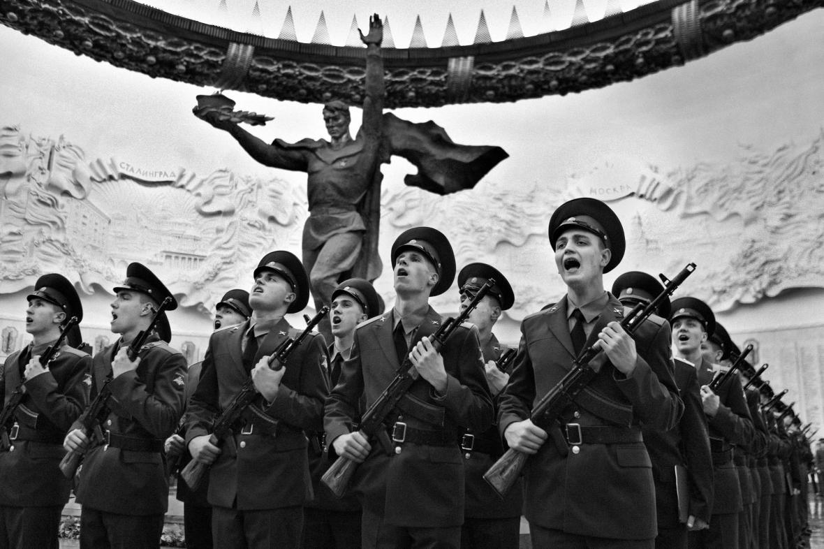 Dana Kyndrová / Vojenská přísaha, Moskva, 2012