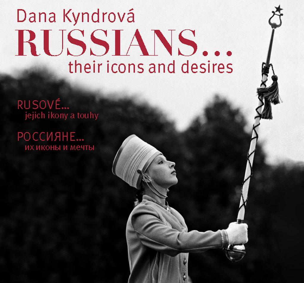 Plakát k výstavě Rusové - jejich ikony a touhy