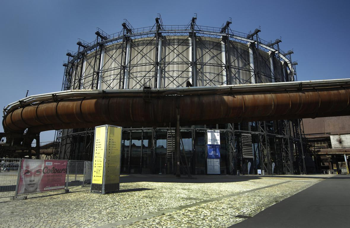 Plynojem - multifunkční hala Gong
