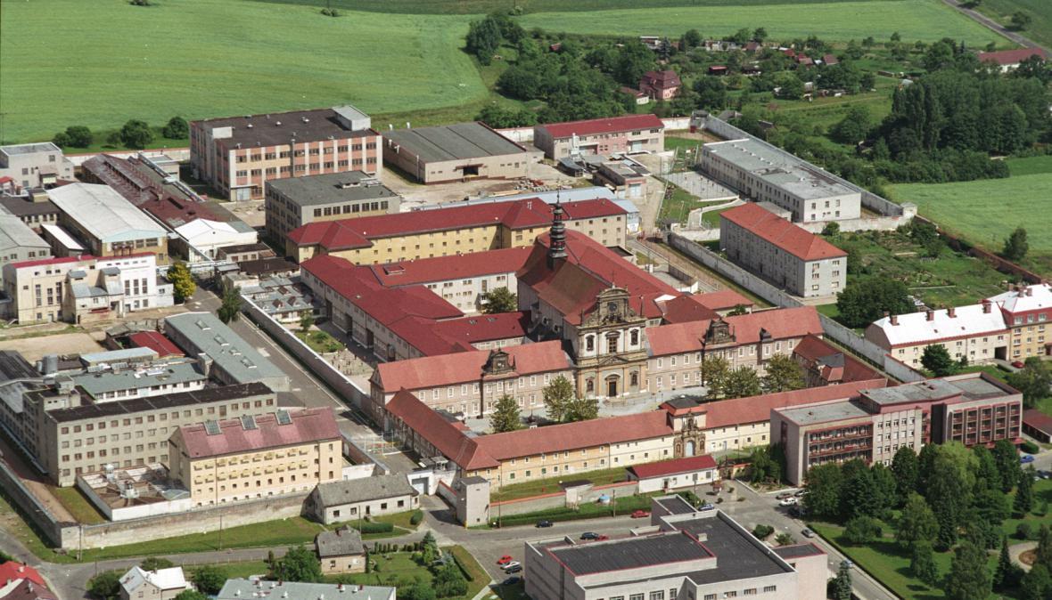 Areál věznice ve Valdicích