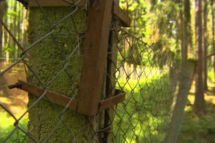 Sklad munice v Drhovicích na Táborsku
