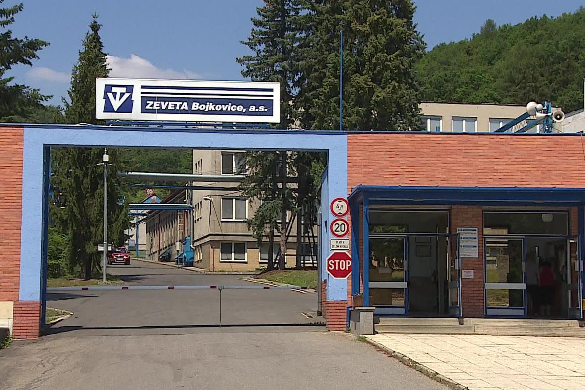 Areál Zevety Bojkovice