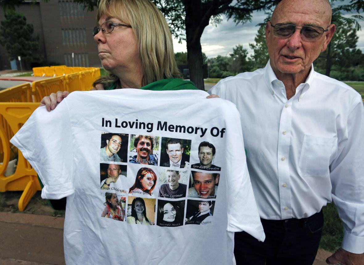 Rodiče jedné z obětí Jamese Holmese