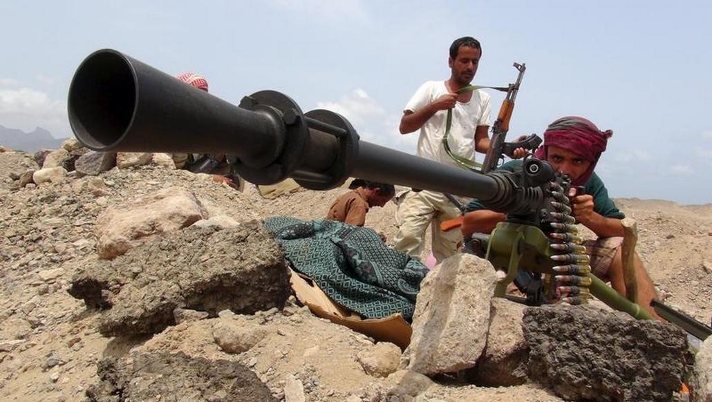Boje v Jemenu