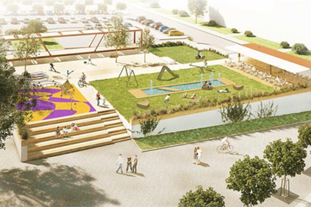 Vizualizace parku