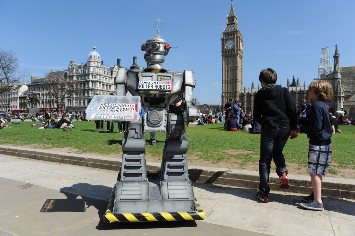 Kampaň proti ozbrojeným robotům
