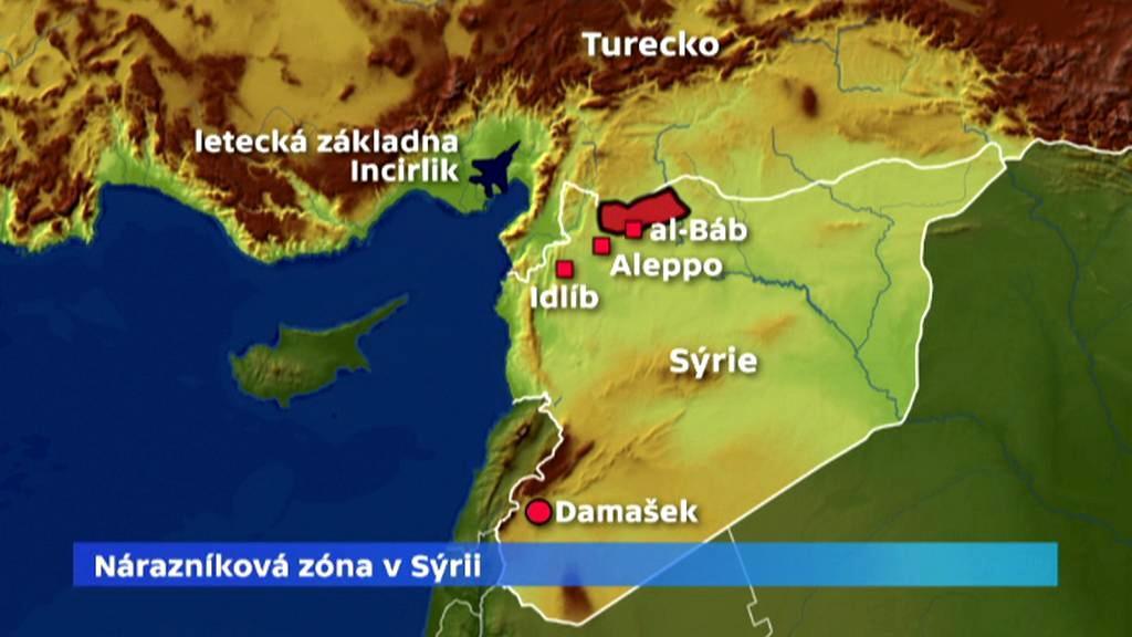 Nárazníková zóna v Sýrii