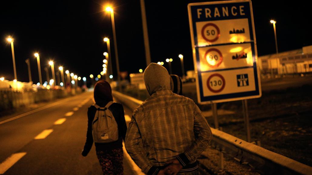 Calais zažívá nápor uprchlíků