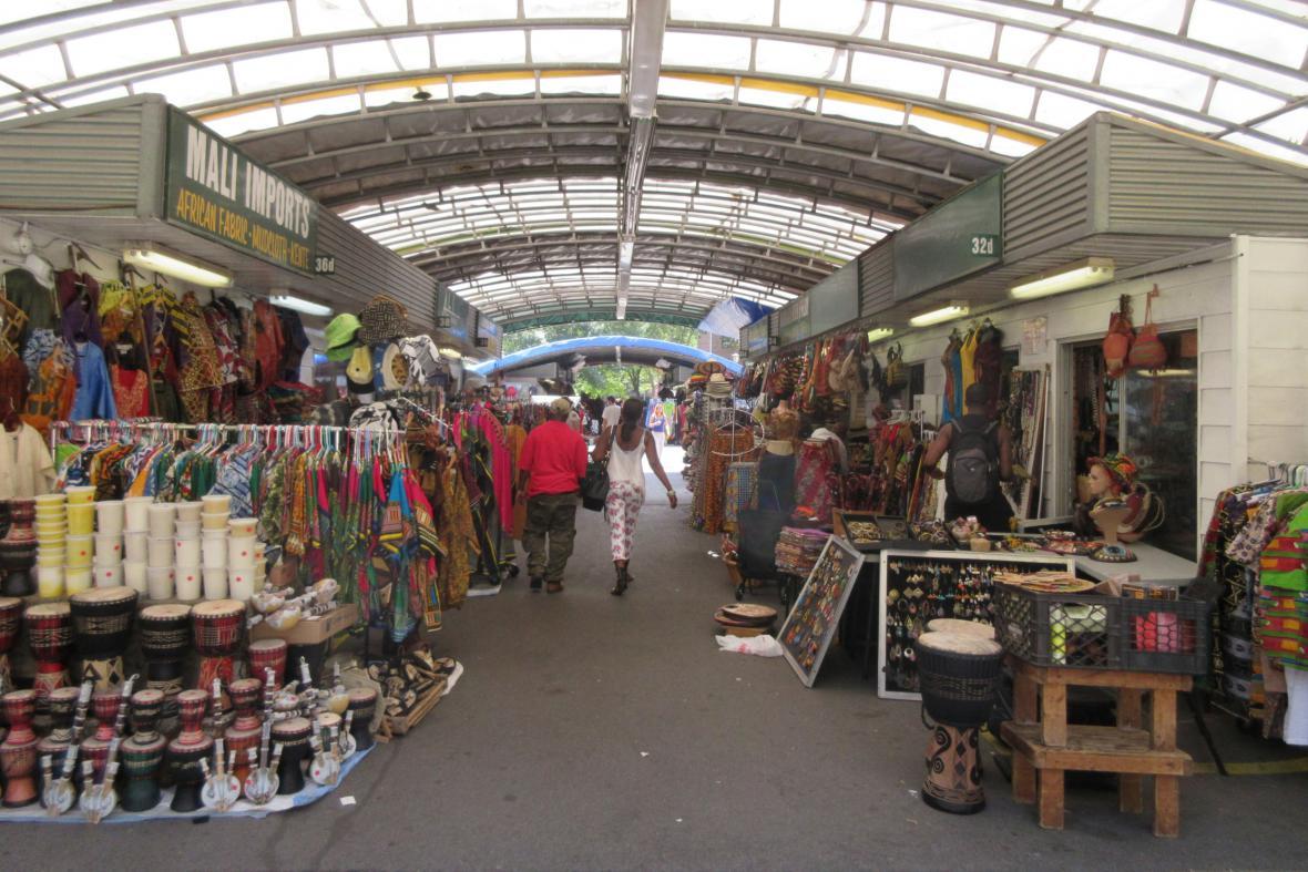 Tržiště v Harlemu