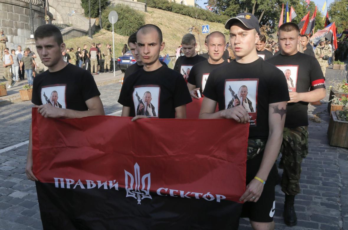 Protest Pravého sektoru