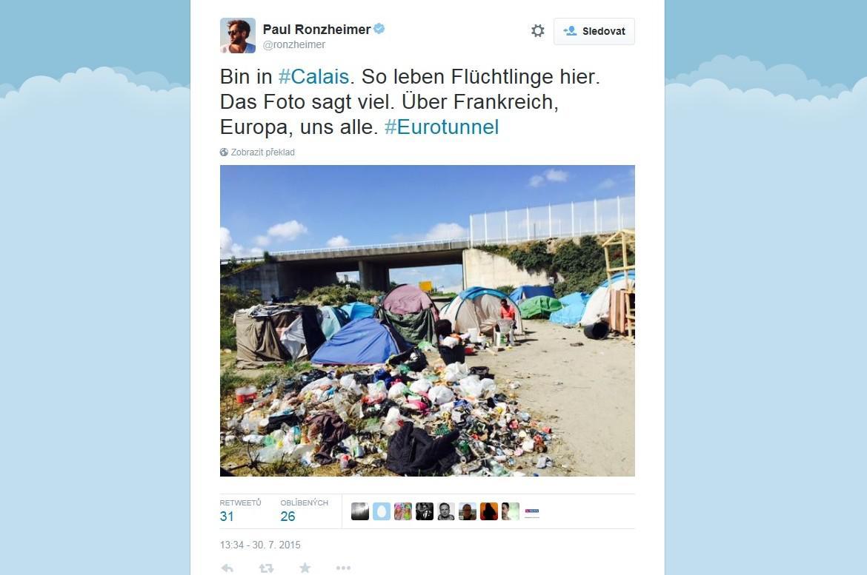 Stany uprchlíků v Calais