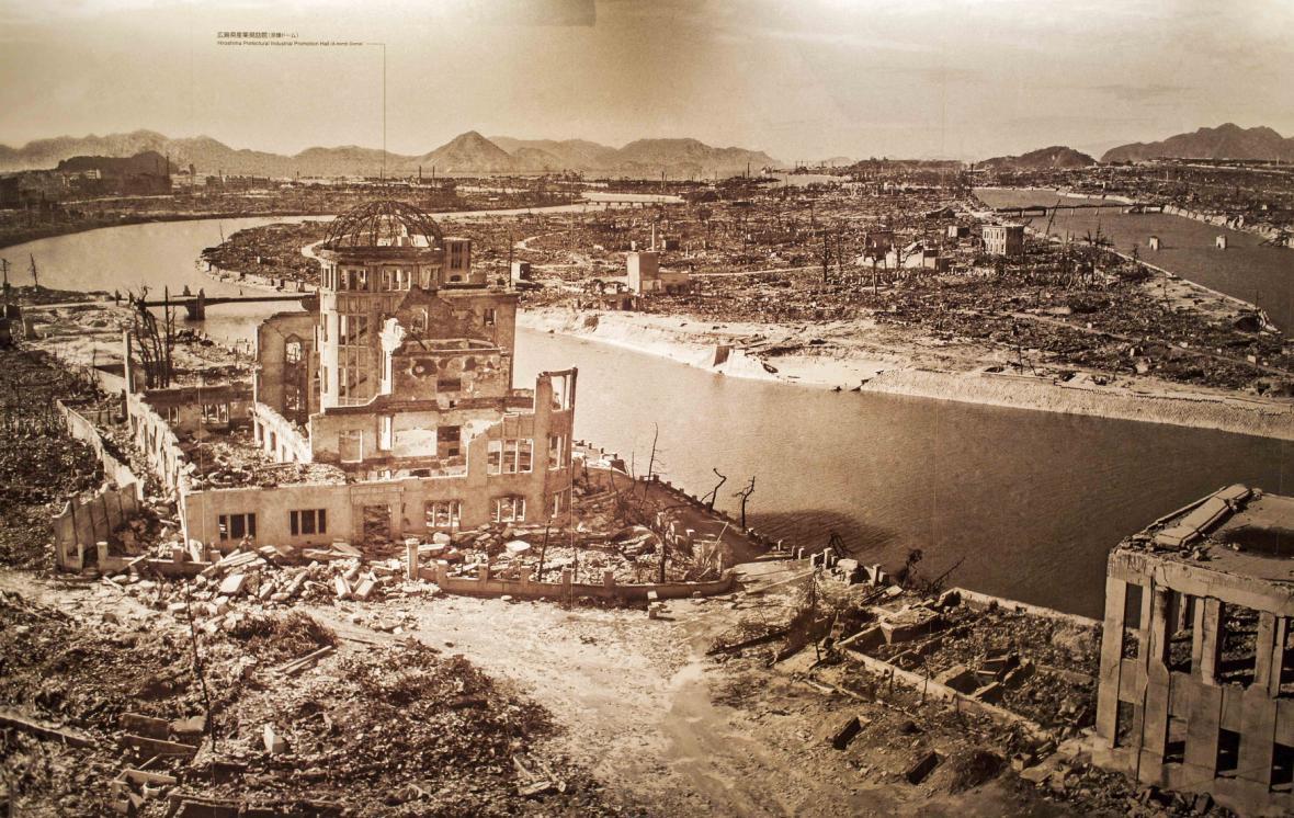 70 let od bombardování Hirošimy a Nagasaki