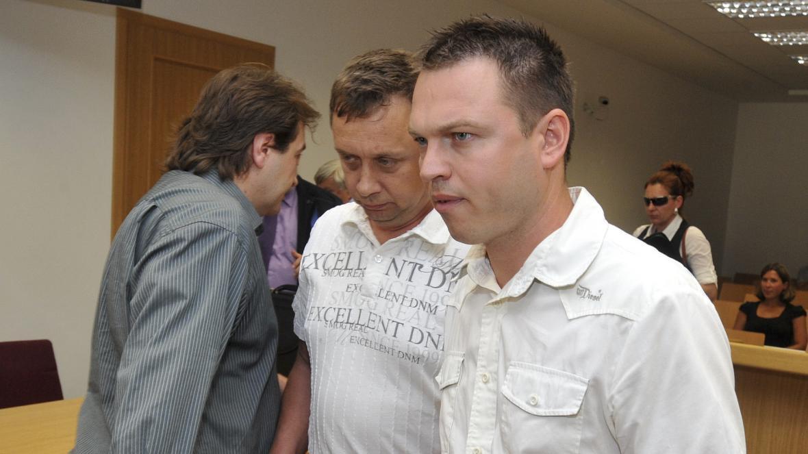 Stanislav Pražan (úplně vpravo)