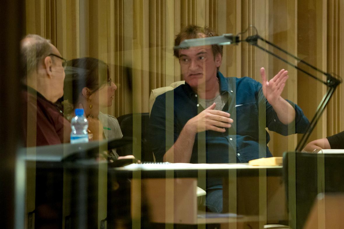 Quentin Tarantino a Ennio Morricone