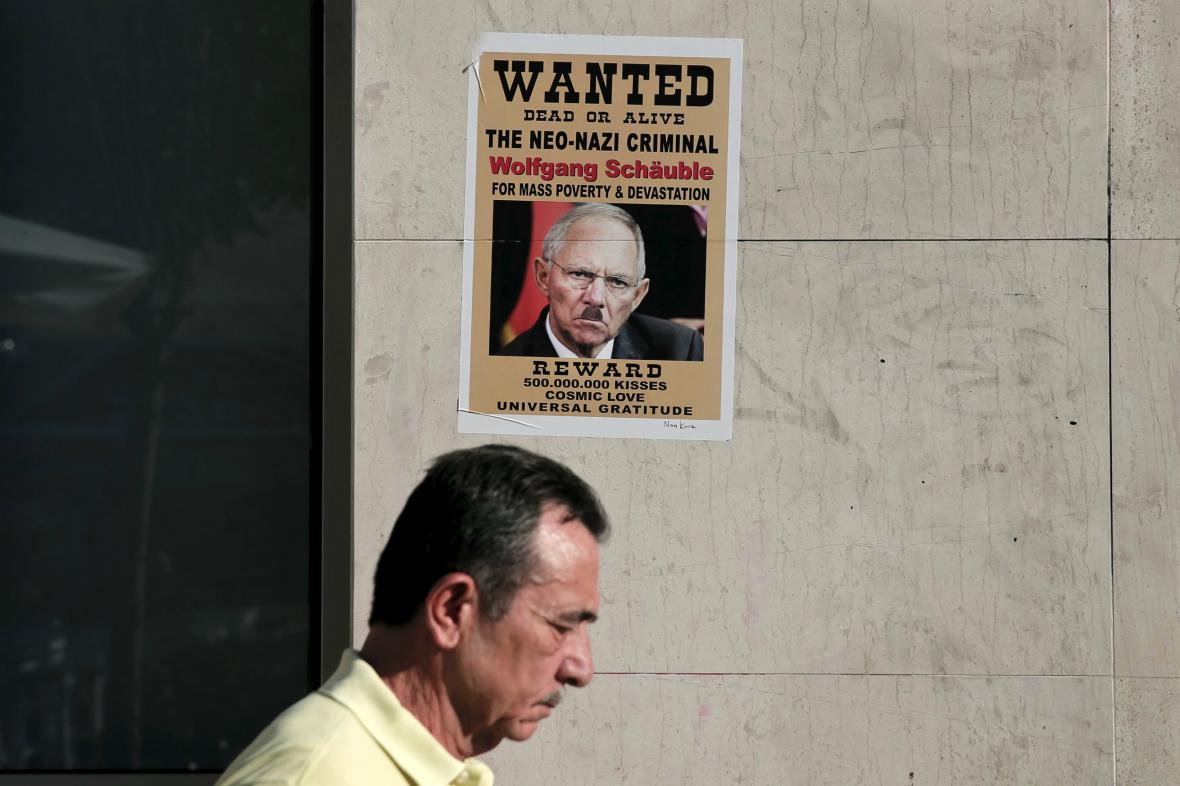 Schäuble není v Aténách příliš oblíben