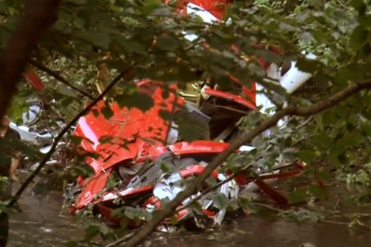 Havárie záchranářského vrtulníku na Slovensku