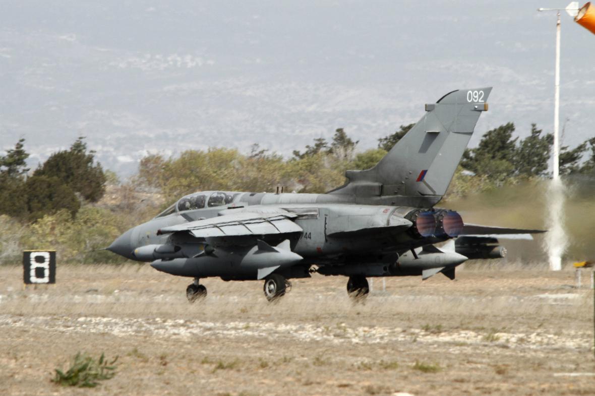 Tornado britského letectva
