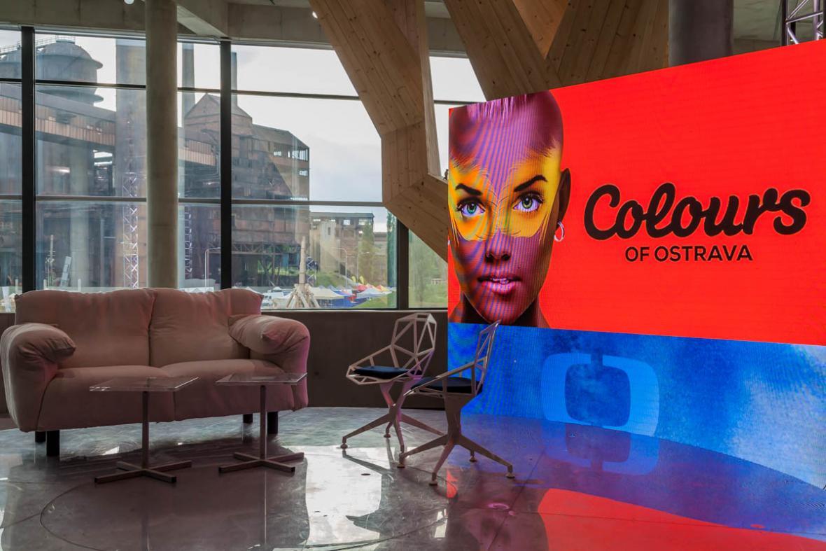 Scéna ČT na Colours of Ostrava je připravena