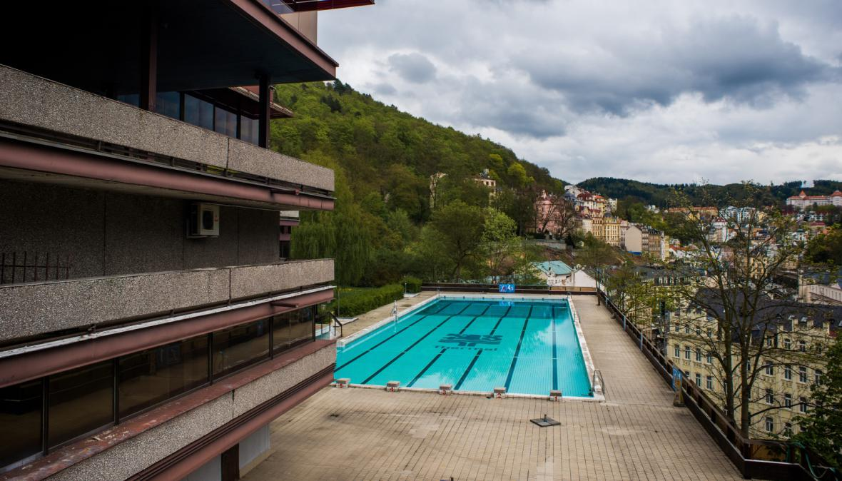 Bazén hotelu Thermal