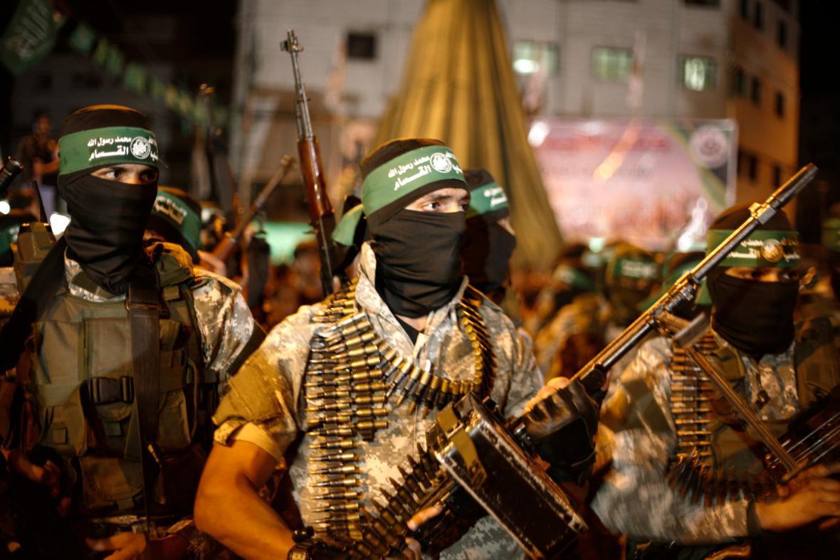 Přívrženci Hamasu