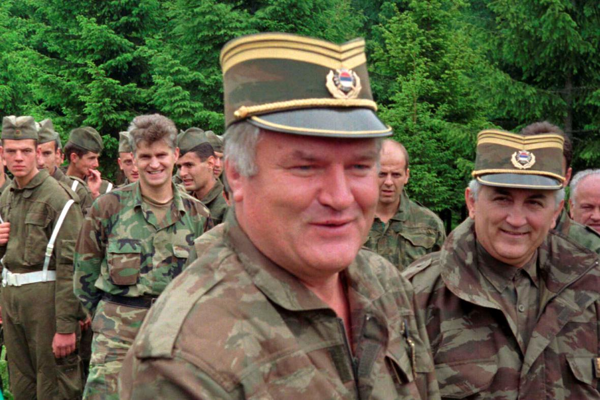 Ratko Mladič v roce 1996