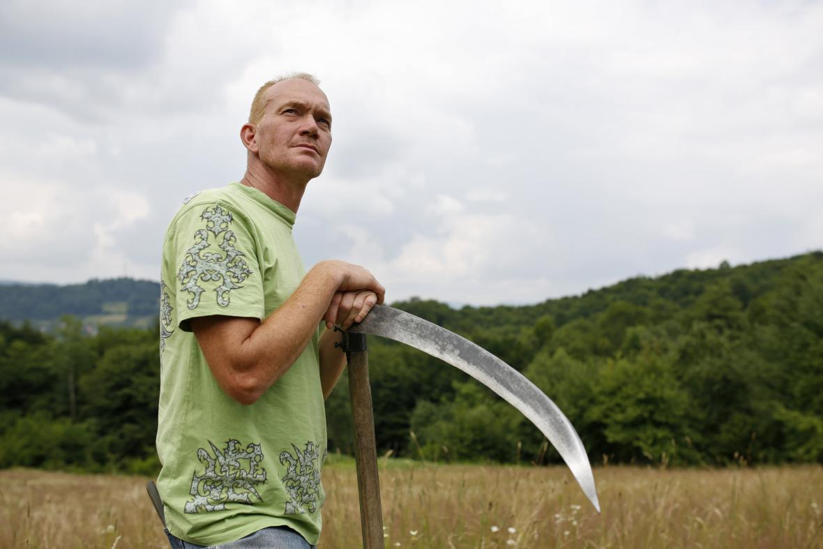 Rob Zomer, veterán nizozemského praporu mírových sil OSN ve Srebrenici