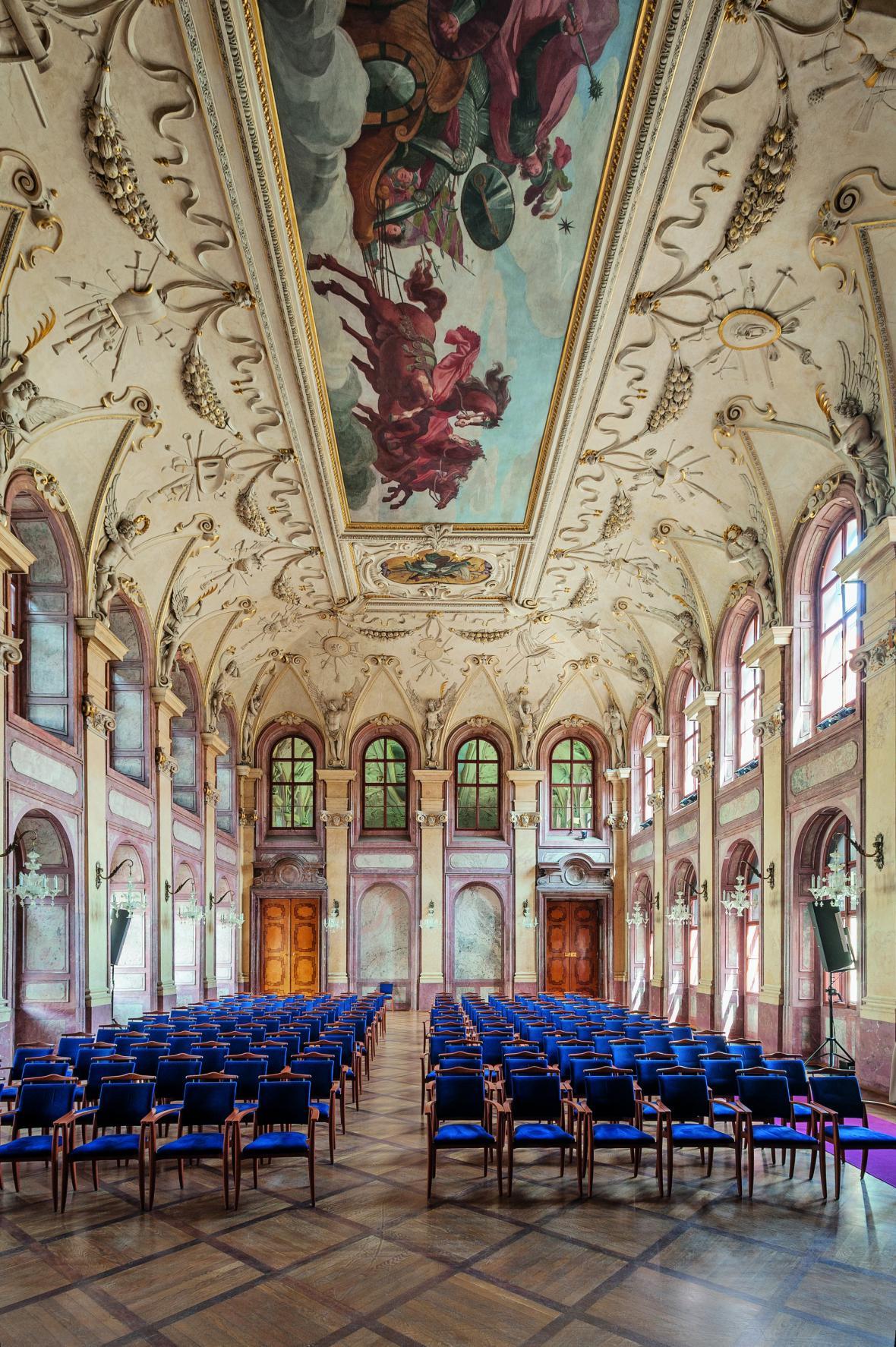 Hlavní sál Valdštejnského paláce