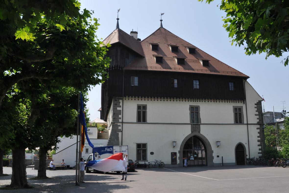 Historická budova koncilu v Kostnici