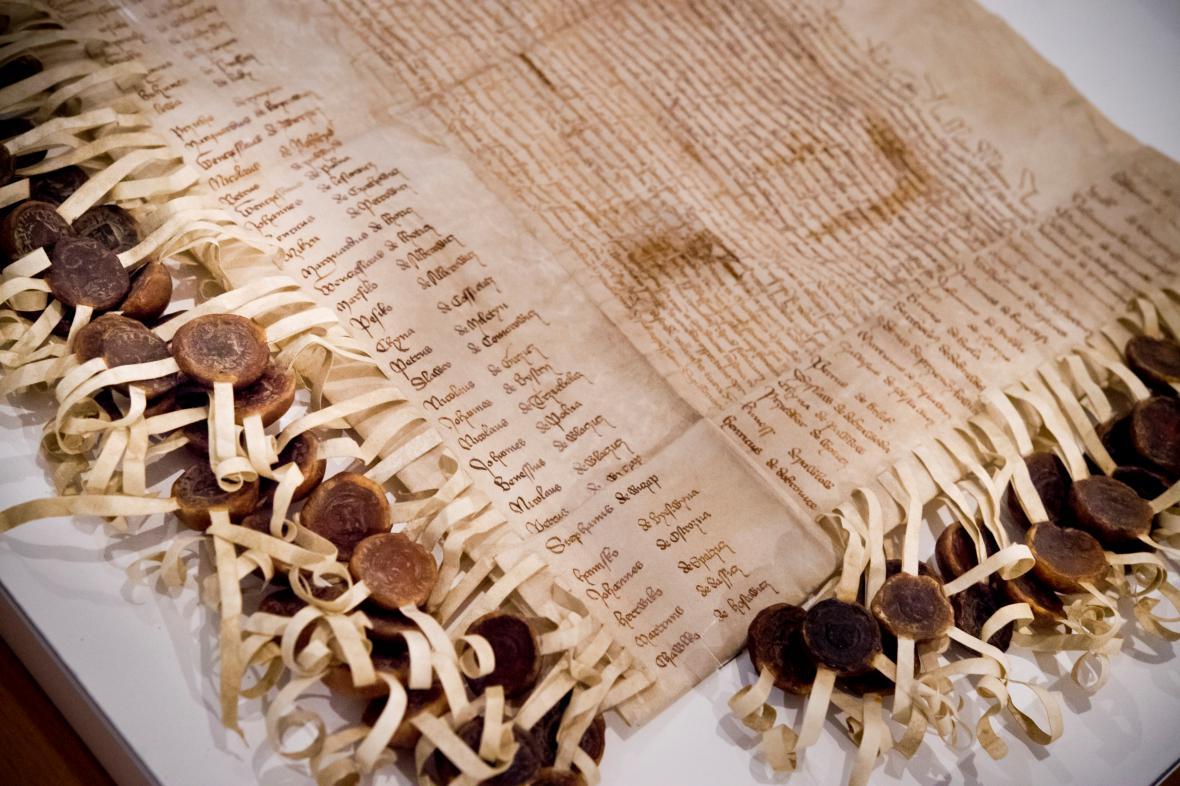 Faksimile stížného listu