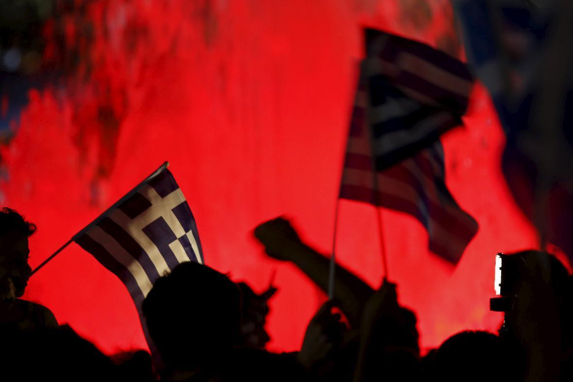 Řečtí odpůrci podmínek věřitelů